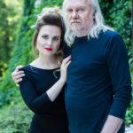 Andrzej Sikorowski i Maja Sikorowska z zespołem • Częstochowa • 24.11.2020