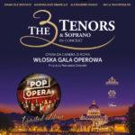 The 3 Tenors & Soprano - Italian Pop Opera • Lublin • 19.11.2020