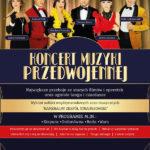 Koncert Muzyki Przedwojennej • Poznań • 11.04.2021