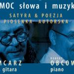 Młynarski-Okudżawa-Cohen | Jerzy Mamcarz | koncert • Toruń • 23.09.2020