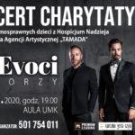 Tre Voci - koncert charytatywny • Toruń • 21.11.2020