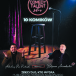 Comedy Talent Show Komik 2021 •   Gdańsk • 12.06.2021