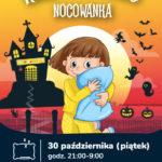 Nocowanka Halloween 2020 w Sali Zabaw Fikołki Ferio Wawer • Warszawa • 30.10.2020