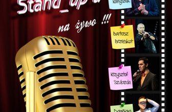 Gwiazdy Stand-up'u na żywo