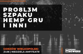 Amfiteatr Hip Hop Festiwal: Pro8l3m, Szpaku, Hemp Gru i inni
