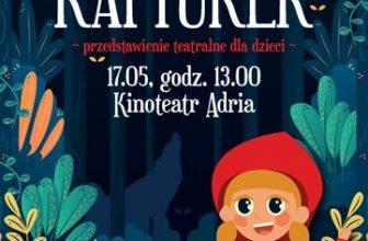 Czerwony Kapturek - spektakl dla dzieci Teatru Baj Pomorski