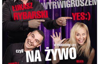Łukasz Rybarski YES:) i artyści z Kabaretu pod Wyrwigroszem