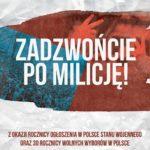 Zadzwońcie po Milicję • Kraków • 12.11.2021